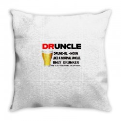 druncle beer funny gift Throw Pillow | Artistshot