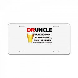 druncle beer funny gift License Plate | Artistshot