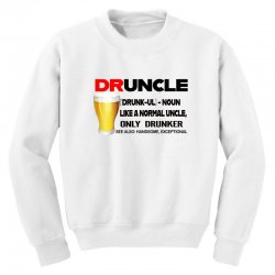 druncle beer funny gift Youth Sweatshirt | Artistshot