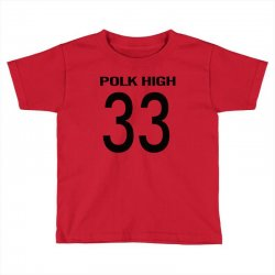 polk high slim Toddler T-shirt | Artistshot