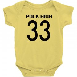 polk high slim Baby Bodysuit | Artistshot