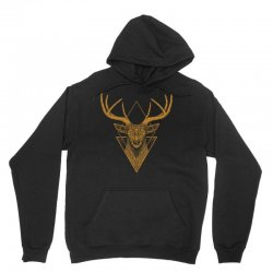 dark deer graphic abstract Unisex Hoodie | Artistshot