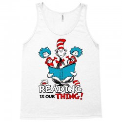 reading is our thing Tank Top   Artistshot