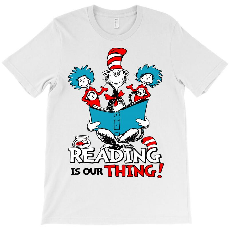 Reading Is Our Thing T-shirt   Artistshot