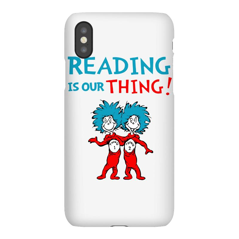 Reading Is Our Thing Iphonex Case | Artistshot