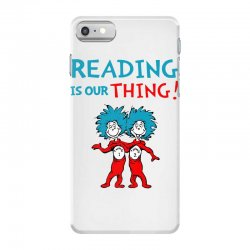 reading is our thing iPhone 7 Case | Artistshot