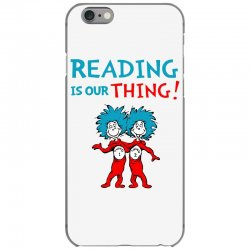 reading is our thing iPhone 6/6s Case | Artistshot