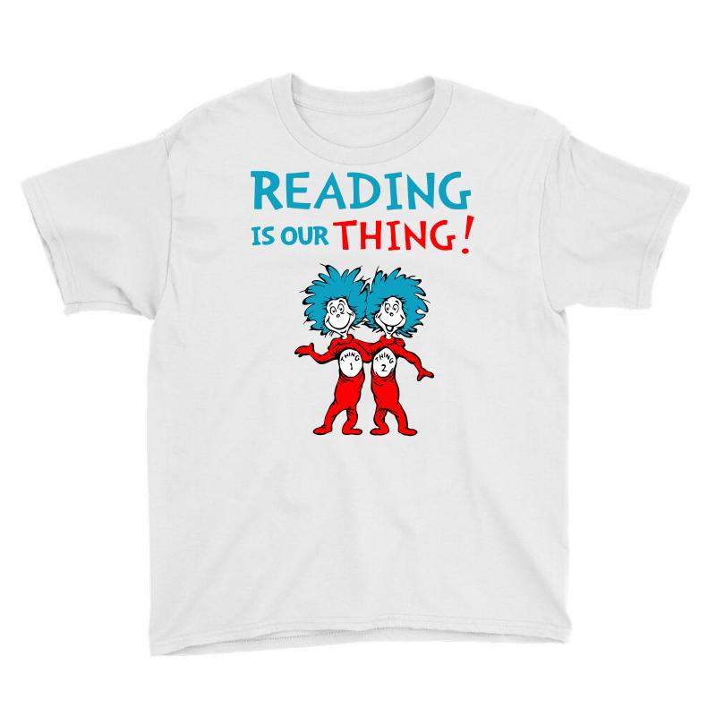 Reading Is Our Thing Youth Tee | Artistshot