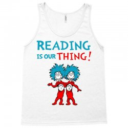 reading is our thing Tank Top | Artistshot