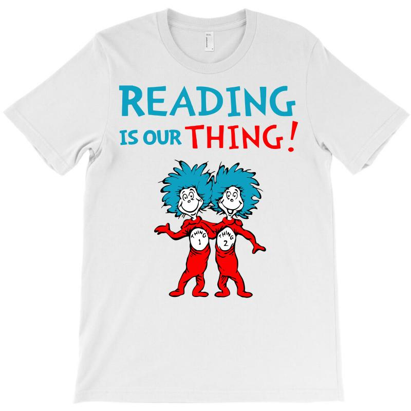 Reading Is Our Thing T-shirt | Artistshot