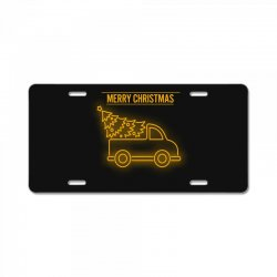 merry chrıstmas License Plate | Artistshot
