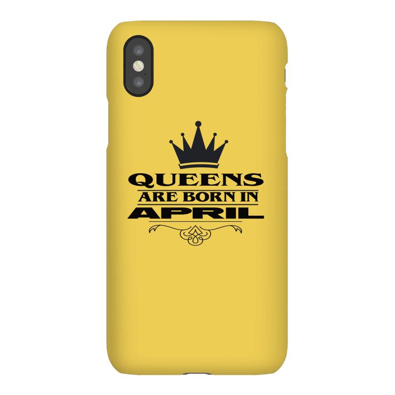 April Birthday Gifts For Ladies   Queens Are Born In April Iphonex Case | Artistshot
