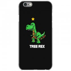 funny christmas dinosaur tree rex 1 iPhone 6/6s Case | Artistshot