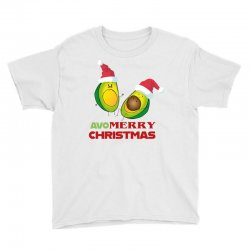 avacado  avo  merry christmas Youth Tee | Artistshot