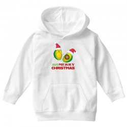 avacado  avo  merry christmas Youth Hoodie | Artistshot