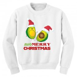 avacado  avo  merry christmas Youth Sweatshirt | Artistshot