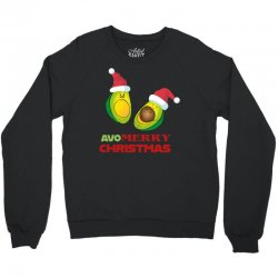 avocado   avo merry christmas Crewneck Sweatshirt | Artistshot