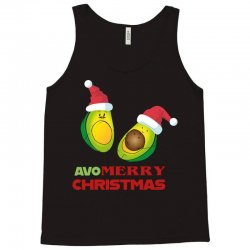 avocado   avo merry christmas Tank Top | Artistshot