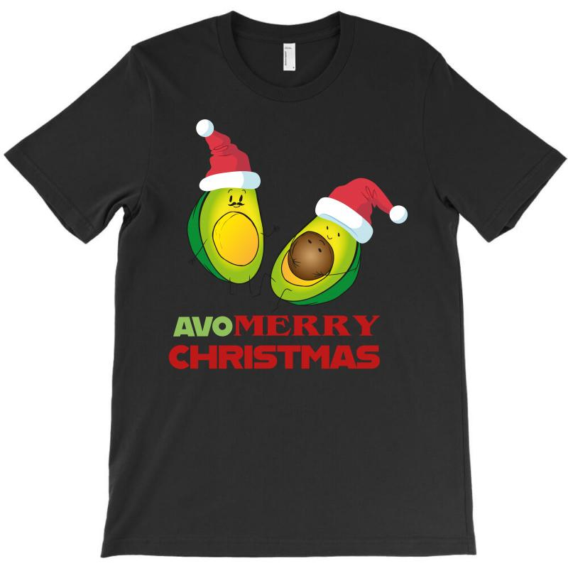 Avocado   Avo Merry Christmas T-shirt | Artistshot