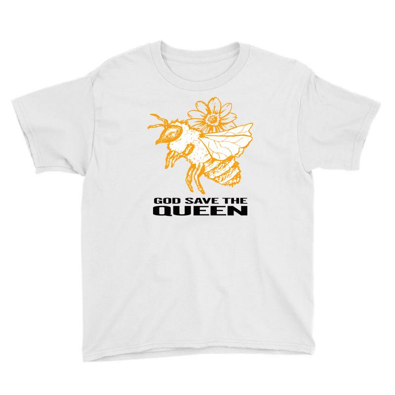 God Save The Queen 'bee' Youth Tee   Artistshot