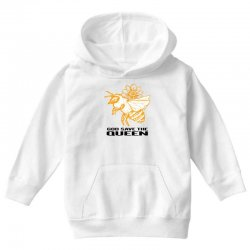 god save the queen 'bee' Youth Hoodie   Artistshot