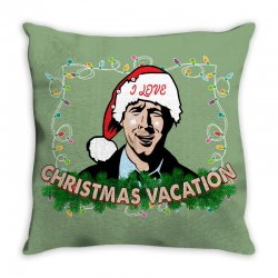 christmas vacation Throw Pillow | Artistshot