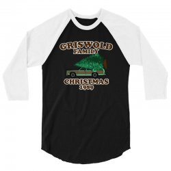 griswold family christmas 1989 3/4 Sleeve Shirt | Artistshot