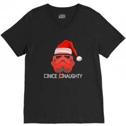 star wars naughty stormtrooper christmas V-Neck Tee | Artistshot