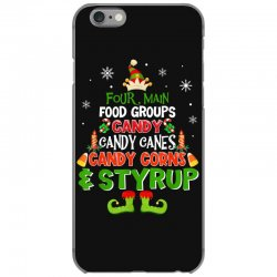 four main food groups elf christmas iPhone 6/6s Case | Artistshot