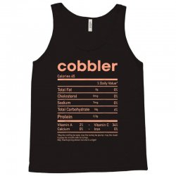 funny cobbler nutrition facts matching thanksgiving Tank Top | Artistshot