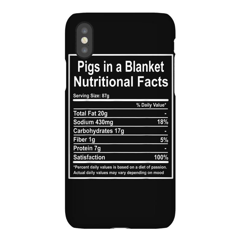 Funny Pigs In A Blanket Nutritional Facts Christmas Iphonex Case | Artistshot