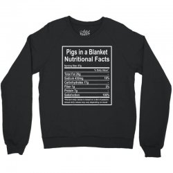 funny pigs in a blanket nutritional facts christmas Crewneck Sweatshirt | Artistshot