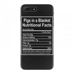 funny pigs in a blanket nutritional facts christmas iPhone 7 Plus Case | Artistshot