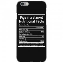 funny pigs in a blanket nutritional facts christmas iPhone 6/6s Case | Artistshot