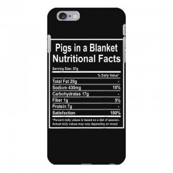funny pigs in a blanket nutritional facts christmas iPhone 6 Plus/6s Plus Case | Artistshot