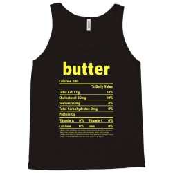 funny thanksgiving butter nutritional facts family Tank Top | Artistshot