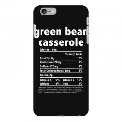funny thanksgiving green bean casse nutritional facts iPhone 6 Plus/6s Plus Case | Artistshot