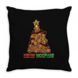 merry woofmas Throw Pillow | Artistshot