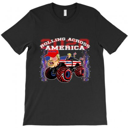 Roling Across America Trump 2020 T-shirt Designed By Kakashop