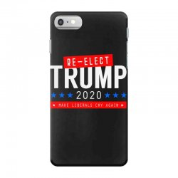 re elect trump 2020 iPhone 7 Case | Artistshot