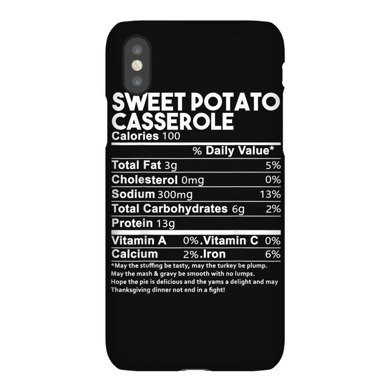 Sweet Potato Casserole Nutrition Facts Funny Thanksgiving Iphonex Case | Artistshot