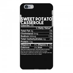 sweet potato casserole nutrition facts funny thanksgiving iPhone 6 Plus/6s Plus Case | Artistshot