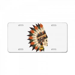 Indian skull License Plate | Artistshot
