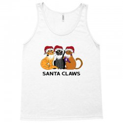funny santa claws christmas gift for cat lovers Tank Top | Artistshot