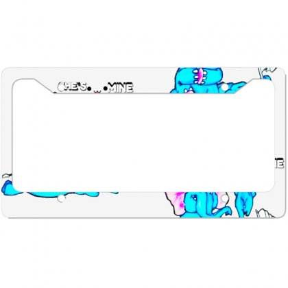 She's Mine License Plate Frame Designed By @dity@