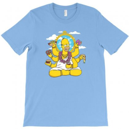 Yoga T-shirt Designed By Disgus_thing