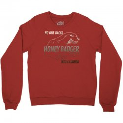honey badger Crewneck Sweatshirt | Artistshot