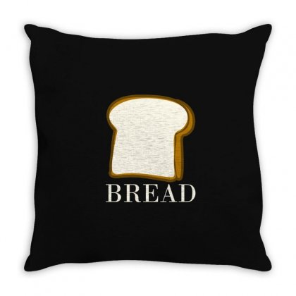 Bread Throw Pillow Designed By Moneyfuture17