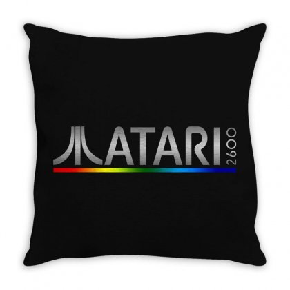 Atari 2600 Throw Pillow Designed By Creative Tees