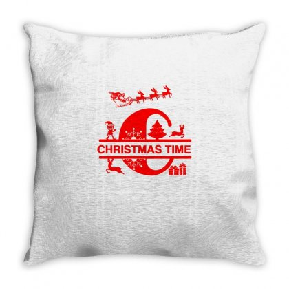 Christmas Time Throw Pillow Designed By Sr88